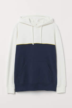 H&M Hooded Sweatshirt - White