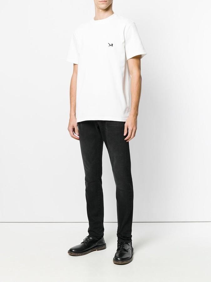 Calvin Klein Jeans patch applique T-shirt
