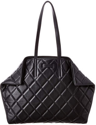 Alexander McQueen Butterfly Quilted Leather Tote