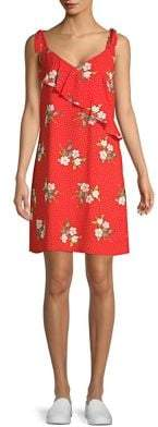 Dorothy Perkins Floral-Print Shift Dress