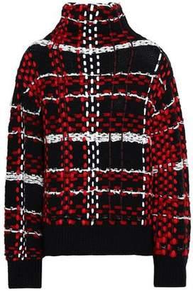 Rag & Bone Dawson Jacquard-knit Merino Wool-blend Turtleneck Sweater