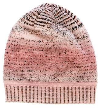 Missoni Knit Wool-Blend Beanie