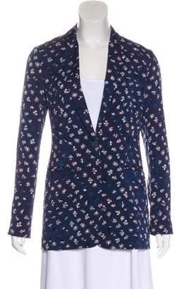 Diane von Furstenberg Floral Silk Blazer w/ Tags