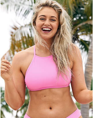 aerie High Neck Bikini Top