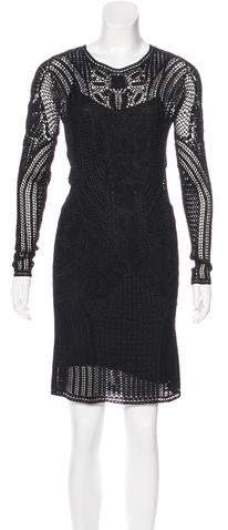 Ralph Lauren Crochet Mini Dress