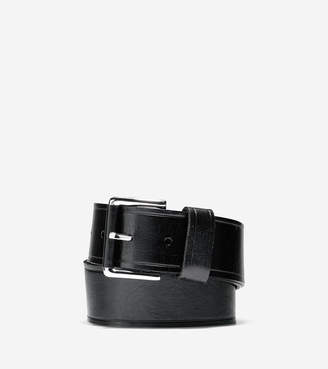 Cole Haan Wide Smooth Leather Belt