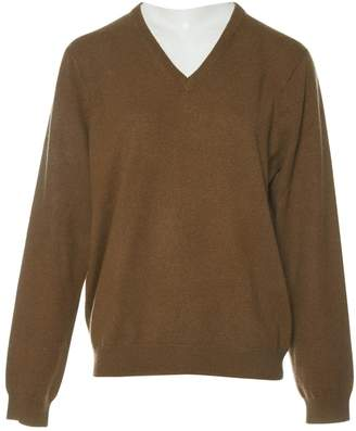 Henry Cotton Brown Cashmere Knitwear