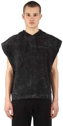 French Terry Sleeveless Sweatshirt