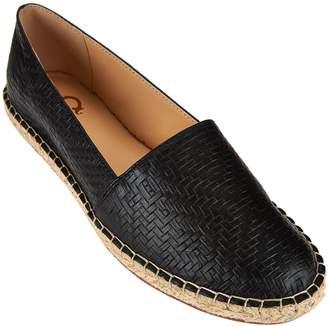 C. Wonder Embossed Leather Espadrilles - Margot