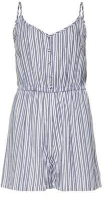 Only Striped Sleeveless Playsuit