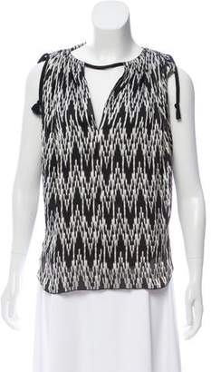 Isabel Marant Print Sleeveless Top w/ Tags