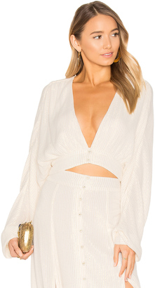 House of Harlow x REVOLVE Gene Top $148 thestylecure.com