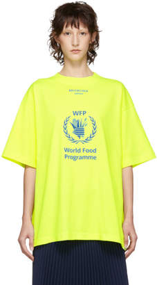 Balenciaga Yellow World Food Programme T-Shirt