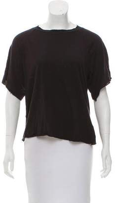 Rebecca Minkoff Short Sleeve Crew Neck Top