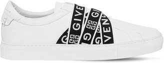 Givenchy Urban Street Leather Slip-On Sneakers