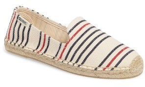Women's Soludos Stripe Espadrille Loafer $54.95 thestylecure.com