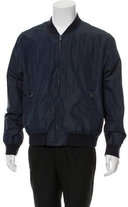 Todd Snyder Reversible Nylon Bomber Jacket