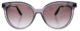 Bottega Veneta Gradient Cat-Eye Sunglasses