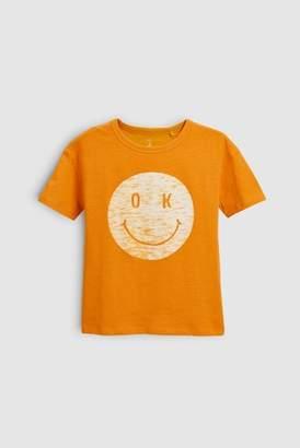 Next Girls White Star Short Sleeve T-Shirt (3-16yrs)
