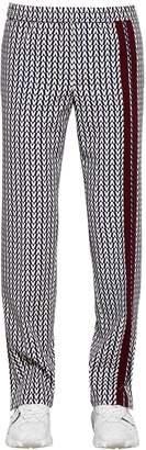 Valentino Optical Print Wool Pants