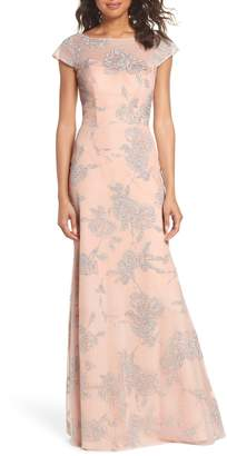 Paige Hayley Occasions Embellished Bateau Neck Gown