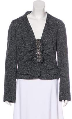 Valentino Embellished Wool Jacket