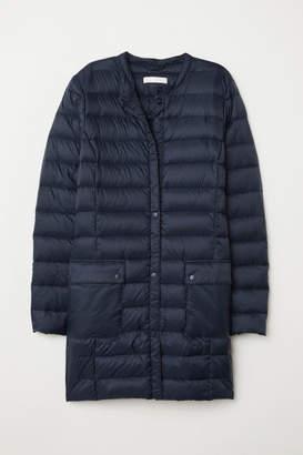 H&M Lightweight Down Coat - Blue