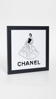 Chanel Shopbop @Home Girl Print