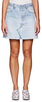 RE/DONE Women's High Rise Levi's® Miniskirt