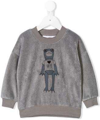 Mini Rodini duck print sweatshirt
