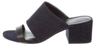 3.1 Phillip Lim Denim Slide Sandals