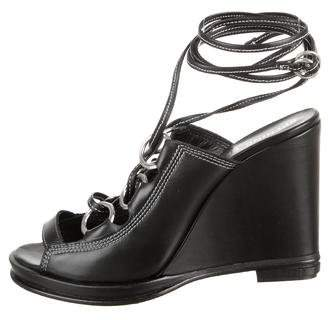 Opening Ceremony Kali Lace-Up Wedges w/ Tags
