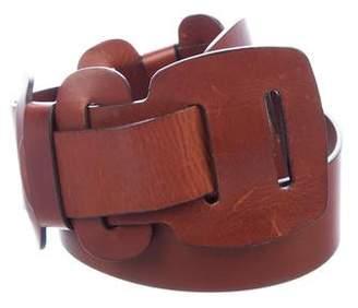Barbara Bui Wide Leather Hip Belt