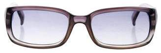 Dolce & Gabbana Gradient Narrow Sunglasses