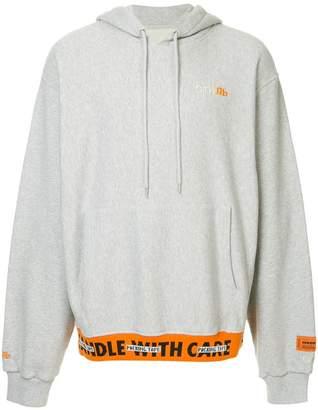 Heron Preston 'Handle with Care' hoodie