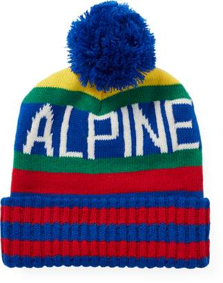 Ralph Lauren Hi Tech Alpine Pom-Pom Hat