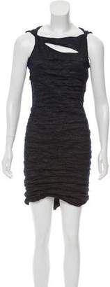Yigal Azrouel Textured Bodycon Dress