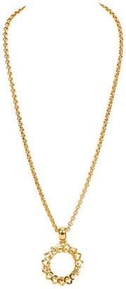 One Kings Lane Vintage Chanel Flower Magnifier Necklace - Vintage Lux