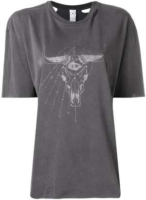 Alchemist animal skull print T-shirt