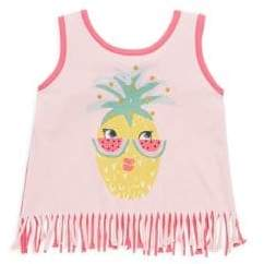 Design History Toddler's & Little Girl's Pineapple Tank Top