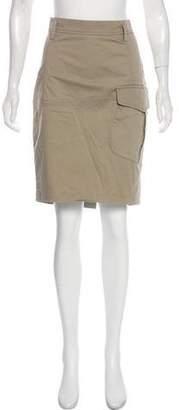 Brunello Cucinelli Knee-Length Twill Skirt