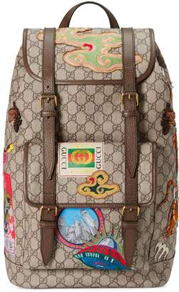 Gucci Courrier soft GG Supreme backpack