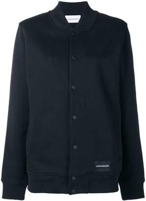 Calvin Klein Jeans Wool Bomber Jacket