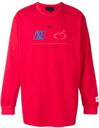 Xander Zhou crew neck sweatshirt