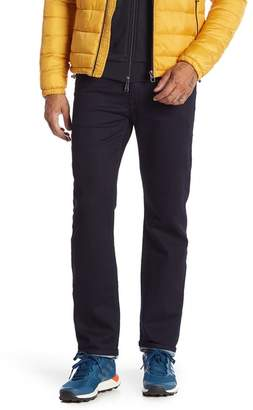 Fidelity Jimmy Slim Straight Solid Jeans