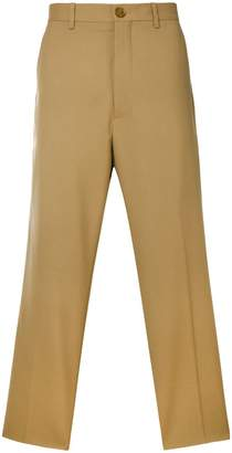 Marni cropped wide leg trousers