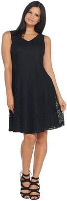 Joan Rivers Classics Collection Joan Rivers Petite Length Classic Lace Sleeveless Dress