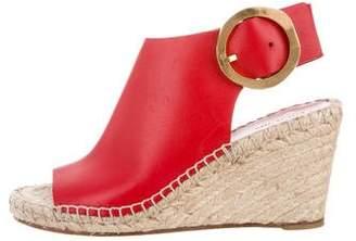 ed2fa774cb5 Celine Red Buckle Closure Women s Sandals - ShopStyle