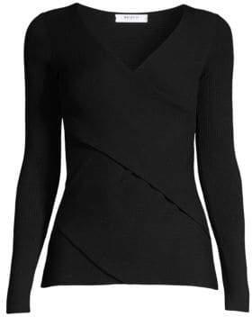 Bailey 44 V-Neck Wrap Sweater