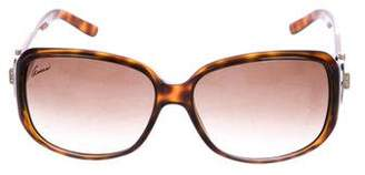 Gucci Strass Horsebit Sunglasses